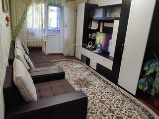 str. Kiev, sec, Râșcani, 3 camere, 63m2. Zonă de Parc! Mobilat Complet!!!
