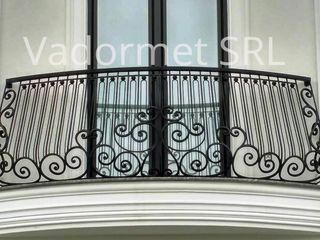Balustrade din fier, fier forjat, balustrade moderne din ţevi profilate Vadormet SRL