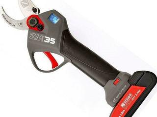Foarfece electric cu sistem de protectie inovativ si 2 baterii puternice!
