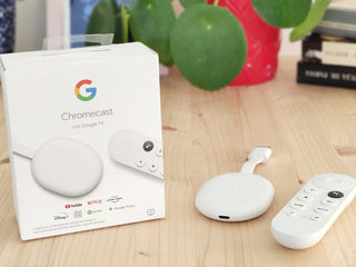 Медиаплеер Google Chromecast with Google TV 4K HDR 2020 New