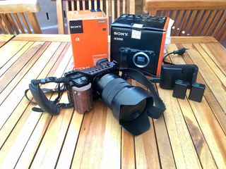 Камера sony a6500 премиум-класса + sony 18-105