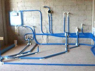 schimbarea tevilor de apa canalizare rubinete,boiler santehnic profesional si calitativ vin  in 1ore