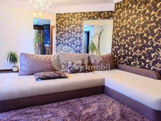 Apartament cu 3 camere, reparație euro, Centru, 600 € !