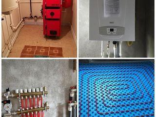 Montam:cazane,calorifere,podele calde,cazangerii,etc.Santehnic.Instalator.Sisteme de incalzire.