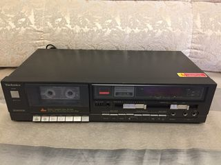 Отличная кассетная дека technics rs-b18
