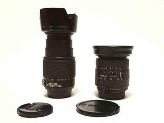 Nikon 55-200mm 4-5.6 G, Sigma Zoom 28-200mm 1:3.8-5.6 UC для Nikon