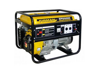 Generator 4 kw benzină firman spg 5000 230 v/генератор 4 квт бензин/garantie/livrare/