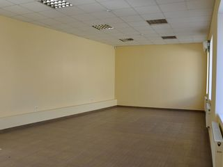 Chirie, oficiu, Centru, Mihai Eminescu, 60 m2, et. 1/2 prima linie, în preț se include TVA