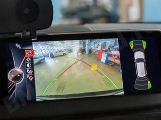 Камера заднего вида на монитор BMW.