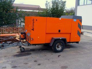 Chirie compresor pe diesel аренда дизельного компрессора