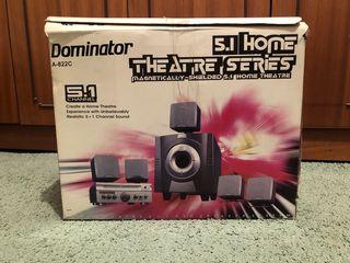 Домашний кинотеатр Dominator 5.1