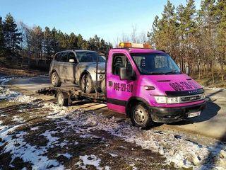 Evacuator 24/24 garantam cel mai mic preţ toate direcţiile moldova europa