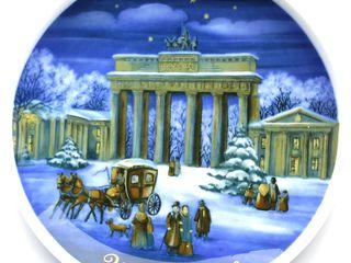 Уникальный подарок на Новый Год и Рождество! Коллекционные фарфоровые тарелки 70; 80; 90 годов!