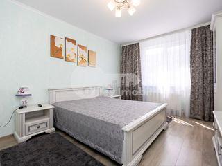 Chirie 2 camere, reparație euro, mobilat+tehnică, Miorița 320 €