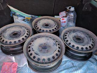 5x108 r16 Металлические диски 4шт 1500 лей