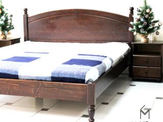 Pat din lemn natural pentru dormitor L207,calitate superioară, кровать из натурального дерева