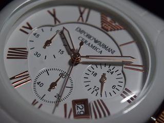Женские часы Armani white Ceramica.лучший подарок для любимой!