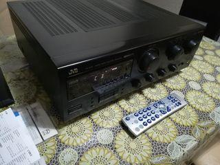 Мощный JVC RX-616RBK +  немецкая акустика