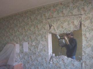 Резка проемов стен перегородок демонтаж сантехкабин бетоновырубка разрушение бетона алмазное резка