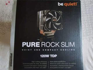 Новый! Be Quiet! Pure Rock Slim 120 TDP