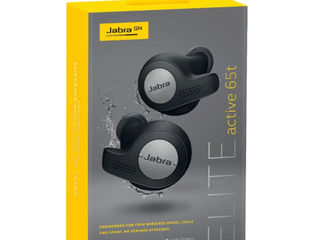 Jabra Elite Active 65t Wireless Earbuds (Titanium Black)
