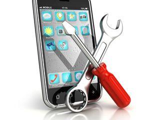 Ремонт телефона, планшета. Reparați telefonul, tableta.