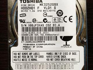 """HDD Toshiba 2.5"""" 320Gb si 1Tb si HDD Western Digital 3.5"""" de 2Tb"""