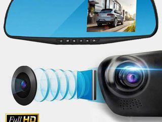 Зеркало видеорегистратор 2 камеры oglinda videregistrator DVR 2cam