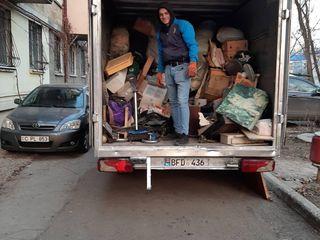 Lichidarea deseurilor din apartamente+transport--hamali