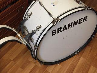 BRAHNER MBD-2612/WH маршевый БАС-барабан размер 26x12