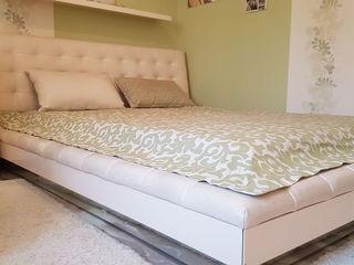 Vând pat de dormitor, cu saltea și iluminare, 220 euro