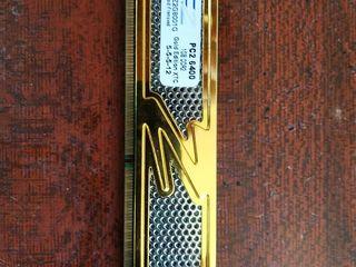 Оперативная память DDR2 1Gb OCZ Gold Edition, идеальное состояние!