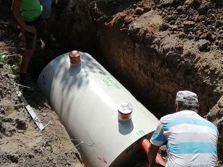 Fosa Septica - sistemа de canalizare pentru casa pe pamînt. 2200 litr (4-5 person)