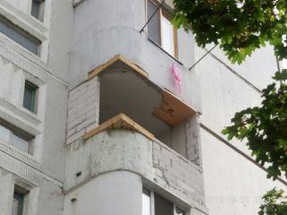 Балконы ремонт, профессионально: расширение балконов, лоджий, кладка из газоблоков, расширение 143