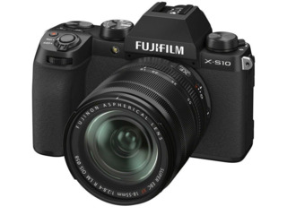 Aparat foto mirrorless FujiFilm X-S10 black/XF18-55mm Kit