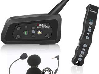 Мотогарнитура Lexin LX -A4 1200M intercom с пультом / Новый !