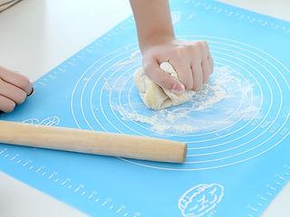 Силиконовый коврик с разметкой большой 39,5 х 49,5 см