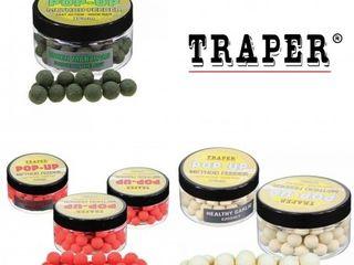 Pop-up traper method feeder