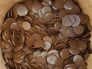 Шоколад. Бельгийский. Belcolade. Сухой Лёд. Пищевой