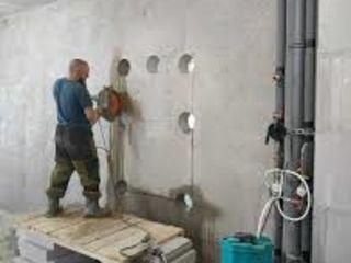 Бельцы разрушение бетона бетоновырубка алмазное резка бетона услуги гидромолота снос строений домов