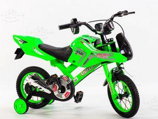 Bicicleta cu efecte exact a motocicletei