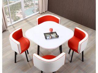 Набор стол и 4 стула для кухни, кафе и ресторанов. Доставка бесплатная Кишинев!