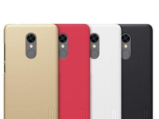 Xiaomi RedMi 5 чехол Nillkin Frosted Shield + защитная плёнка