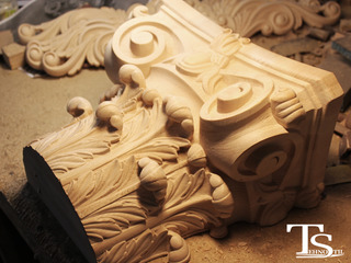 Резьба по дереву,резной погонаж: деревянные молдинг, багет, розетки из дерева,капители из дерева