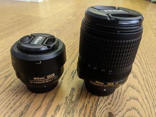 Digital camera D5600 + doua obiective + geanta!!!