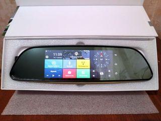 Зеркало регистратор с GPS на Android с 2 камерой