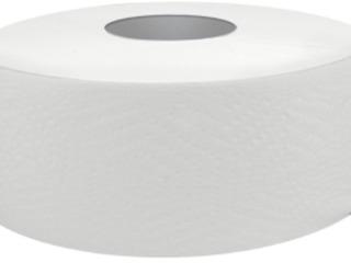Туалетная бумага - Jumbo, целлюлоза белая клей