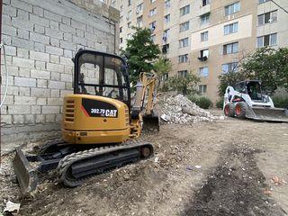 La comandă  bobcat/excavator servicii !!!