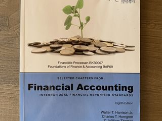 Financial Accounting/ International Financial Reporting Standards