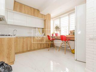 Botanică, apartament cu 2 camere + living, 62 500 euro.